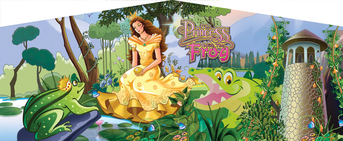 Princess with the Frog